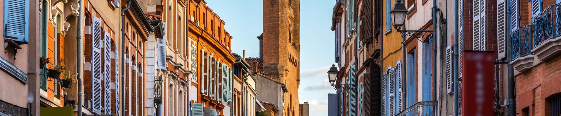 Toulouse, la rue du Raur
