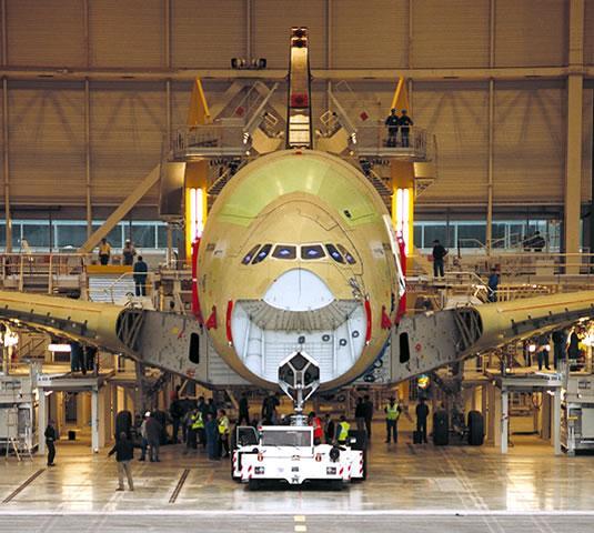 Chaîne d'assemblage d'Airbus
