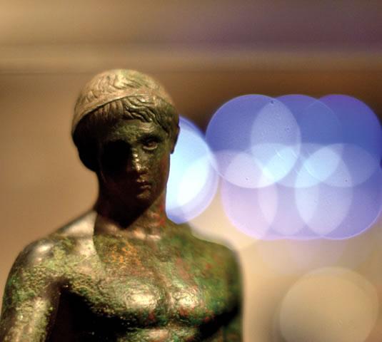 Statue en bronze du musée Saint-Raymond