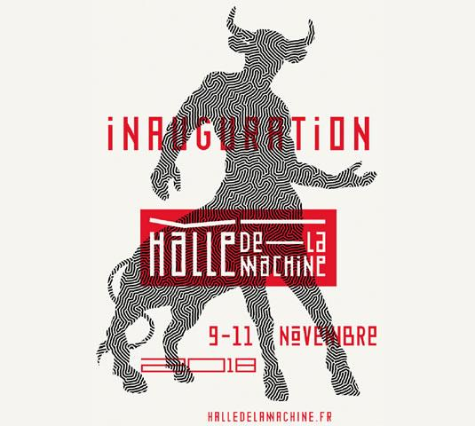 Inauguration de la Halle de la Machine