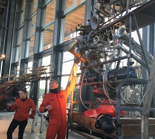 La Halle de la Machine - les véritables machinistes