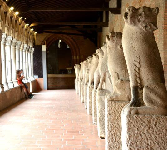Cloître du musée des Augustins