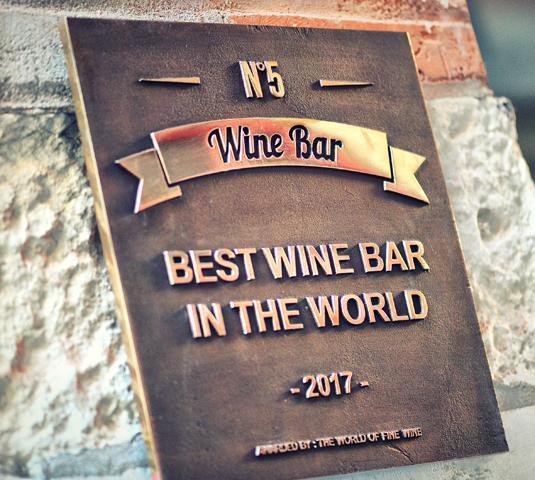 Meilleur bar vin au monde