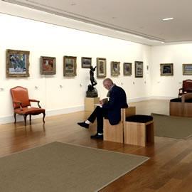 Fondation Bemberg - salle intérieure