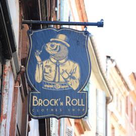 Brock'n'roll clothe shop