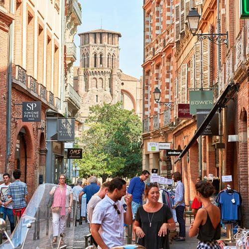 Shopping à Toulouse