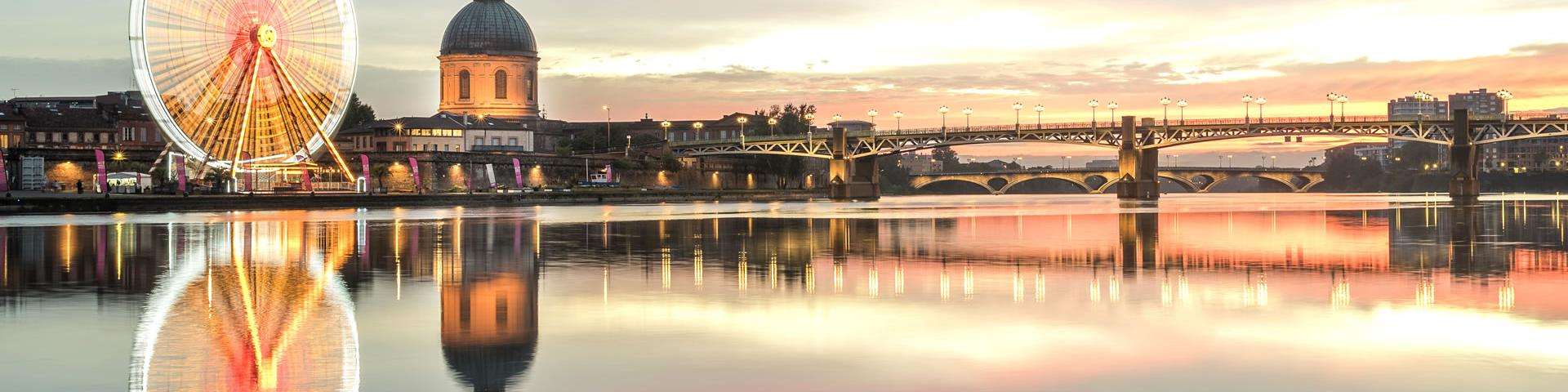 Toulouse et la Garonne