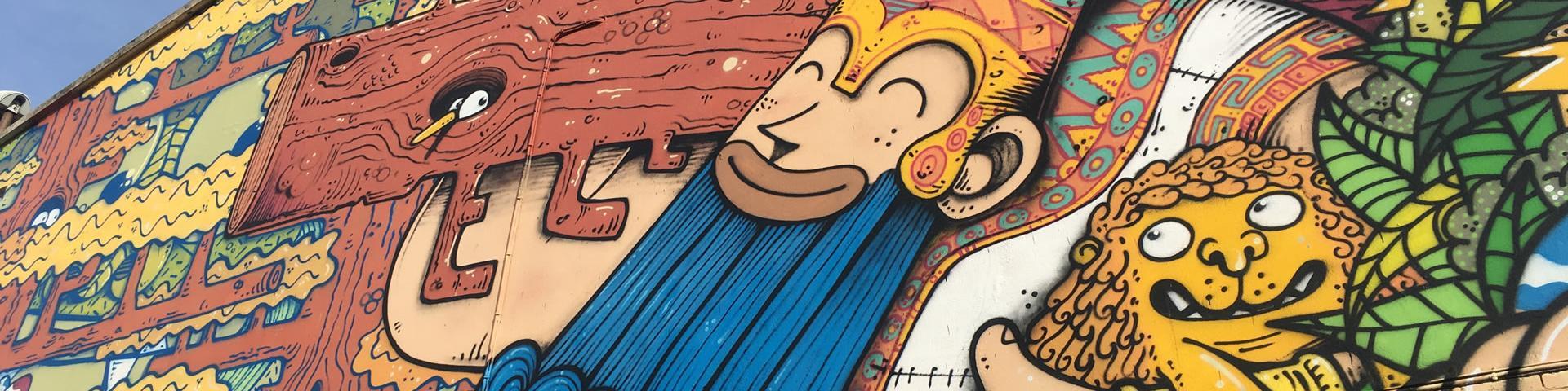 Street art - l'épopée de Gilgamesch