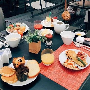 Le brunch du Gourmet bar by Novotel Toulouse